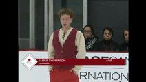 James Thompson 2016 Skate Canada Autumn Classic International - SP