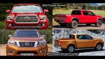 2016 Toyota Tacoma Vs 2016 Nissan Navara Frontier NP300 - DESIGN!