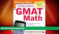 Big Deals  McGraw-Hill s Conquering the GMAT Math: MGH s Conquering GMAT Math  Best Seller Books
