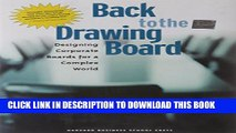 [PDF] Back to the Drawing Board: Designing Corporate Boards for a Complex World Popular Online