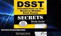 Big Deals  DSST Introduction to the Modern Middle East Exam Secrets Study Guide: DSST Test Review