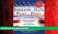 FAVORIT BOOK Inmigración a los EE.UU. Paso a Paso (Inmigracion a Los Ee.Uu. Paso a Paso