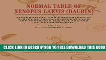 Collection Book Normal Table of Xenopus Laevis (Daudin): A Systematical   Chronological Survey of