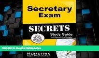 Big Deals  Secretary Exam Secrets Study Guide: Secretary Test Review for the Civil Service