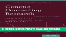 New Book Genetic Counseling Research: A Practical Guide (Genetic Counselling in Practice)