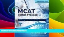 Big Deals  MCAT Verbal Practice: 108 Passages for the new CARS Section  Best Seller Books Best