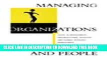 [PDF] Managing Organizations and People: Cases in Management, Organizational Behavior   Human