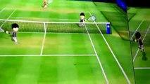 Un bug coince une partie de Tennis : gros échange sur Wii Sports LOL