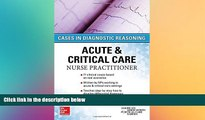 Must Have PDF  ACUTE   CRITICAL CARE NURSE PRACTITIONER: CASES IN DIAGNOSTIC REASONING  Free Full