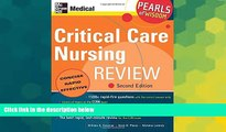 Big Deals  Critical Care Nursing Review: Pearls of Wisdom, Second Edition  Best Seller Books Most