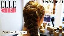 Flair, dénicheur d'idées - Des tresses à croquer ! | Episode 21 en exclu sur ELLE Girl, avec Hélène Rabu, coiffeuse au bar à coiffures 365c, et mati-Mathieu Touis, barista à Coutume Café.