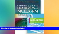 Must Have PDF  Billings Q A 11e + Lippincott NCLEX-RN 10,000 prepU 12 Month Access Package  Best