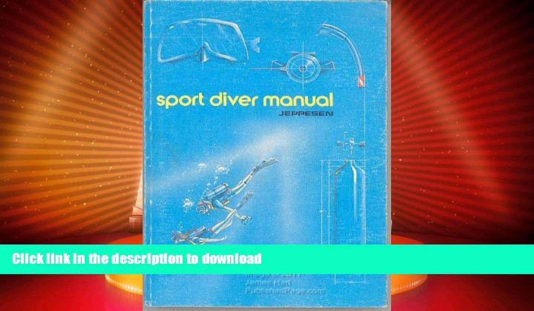 Scuba Books Jeppesens Open Water Sport Diver Manual rhcv.be