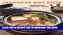 [PDF] Japanese Hot Pots: Comforting One-Pot Meals Popular Colection