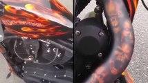 Cette moto va rendre Ghost Rider jaloux