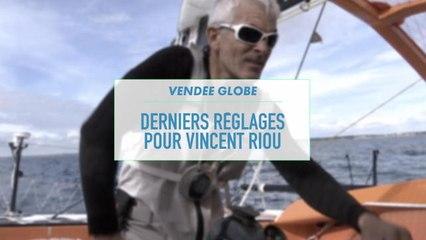 MIDI SPORT - Derniers réglages pour Vincent Riou avant le Vendée Globe