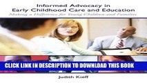 Collection Book Informed Advocacy in Early Childhood Care and Education: Making a Difference for