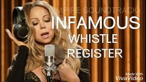 (INFAMOUS WHISTLE REGISTER !!!) MARIAH CAREY INFAMOUS (EMPIRE OFFICIAL SOUNDTRACK) [NEW !!!]
