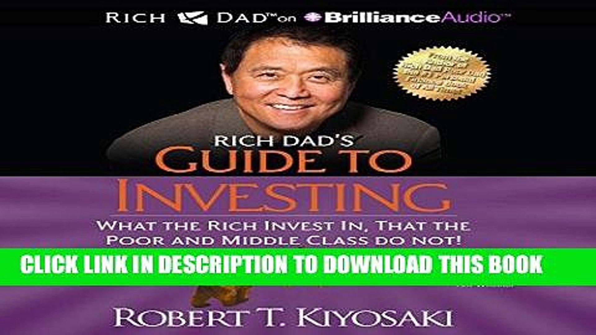 Best Seller Rich Dad s Guide to Investing: What the Rich Invest In That the Poor and Middle Class