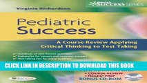 Read Now Pediatric Success: A Course Review Applying Critical Thinking Skills to Test Taking