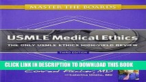 [PDF] Master the Boards USMLE Medical Ethics: The Only USMLE Ethics High-Yield Review Popular Online