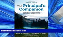 Choose Book The Principal s Companion: Strategies to Lead Schools for Student and Teacher Success