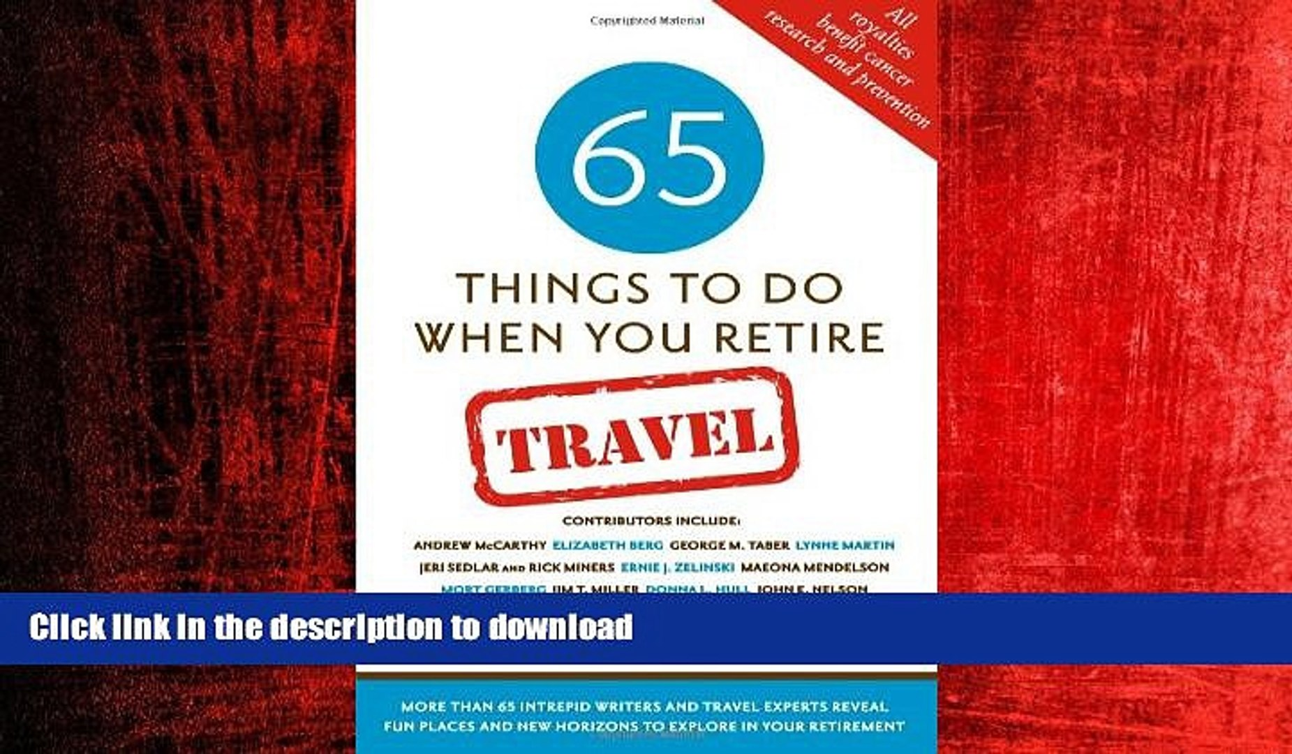 FAVORIT BOOK 20 Things To Do When You Retire Travel   20 Intrepid Travel  Writers and Experts