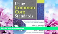 Online eBook Using Common Core Standards to Enhance Classroom Instruction   Assessment