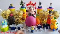 PLAY DOH SURPRISE EGGS with Surprise Toys, Dota 2 Minions, Dalmatians