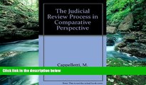 Books to Read  The Judicial Process in Comparative Perspective  Full Ebooks Most Wanted