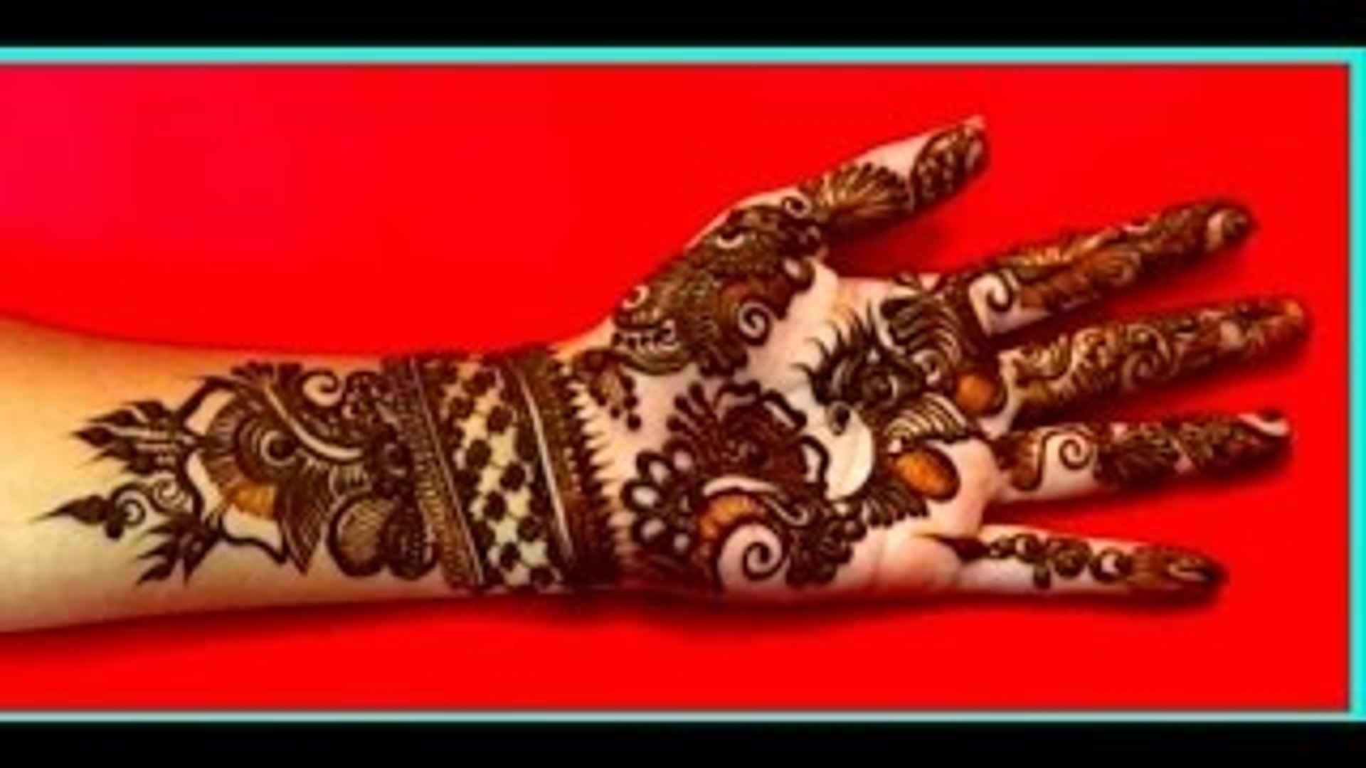 Eid Special Indo Arabic Mehndi Design Simple And Easy Step By Step