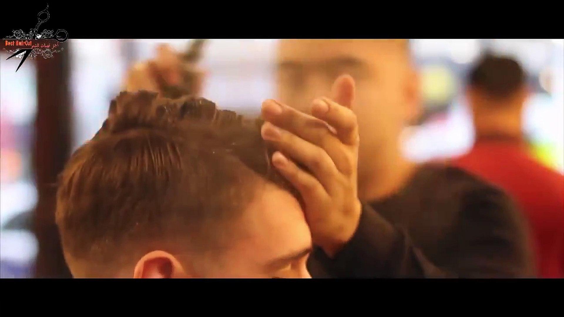 Haircut for Men Fade | Haircut Tutorial Men Short - Hướng dẫn cắt tạo kiểu tóc nam Slicked Back Hot
