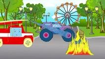 ✔ Мультики для Детей все серии. Монстр Трак на Автомойке! Cars Cartoons / Compilation for kids ✔