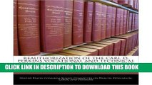 Ebook Reauthorization of the Carl D. Perkins Vocational and Technical Education ACT: Education for