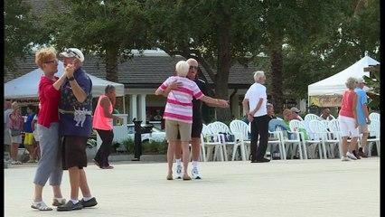 """Etats-unis: """"The villagers paradis'' des retraités républicains en Floride"""