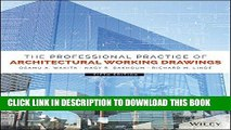 [FREE] EBOOK The Professional Practice of Architectural Working Drawings BEST COLLECTION