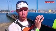 Crozon. Championnat de France Ocean Racing : Nicolas Lambert vainqueur en K1