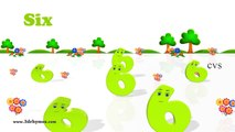 Learn Numbers Song 1 to 100 Counting - 3D Animation Numbers Rhymes for Children