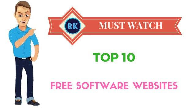 Top ten websites to download softwares for free 2016