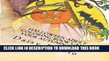 [Ebook] Halloween adult coloring book Calm your Autumn soul  Autumn, Halloween hand drawn adult