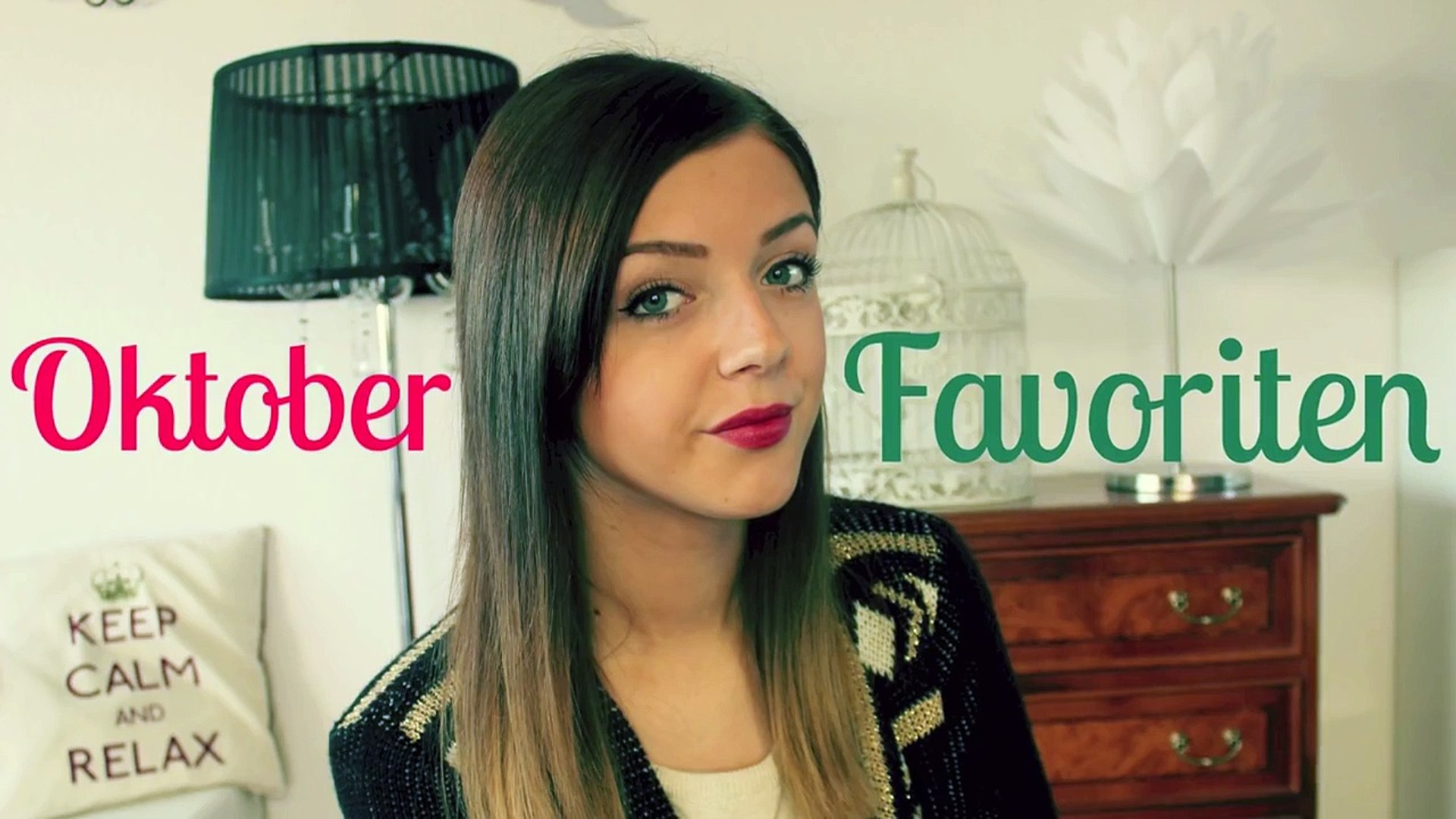 Oktober Favoriten 2013 | Beauty & Fashion & Lifestyle