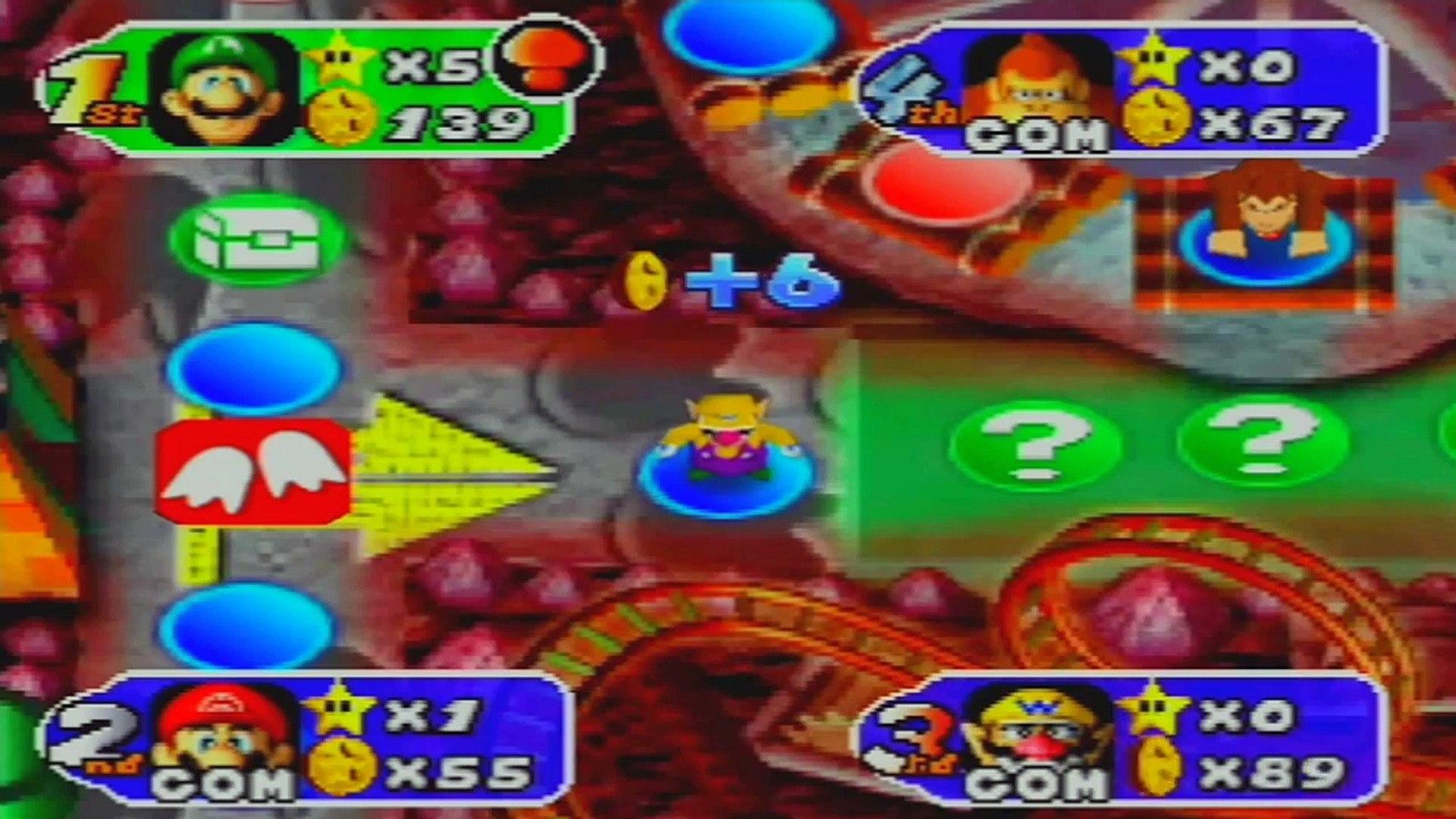 Mario Party 2 Gameplay Walkthrough Part 12 With Credits Bowser Land 2 2