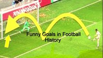 Live Sports | Funny goals in football history | Funny free kick | Funny penalty goals | sports vines