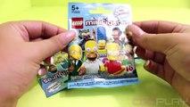 ♥ LEGO Minifigures The Simpsons Surprise Unboxing PART 1 (The Simpsons Minifigures)