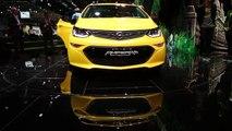 Opel Ampera-e Exterior Design in Yellow Trailer