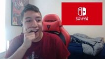 NINTENDO SWITCH (NX) REVEAL TRAILER LIVE REACTION!