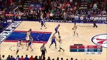 Jerami Grant Blocks Tim Hardaway Jr _ Hawks vs Sixers _ October 29, 2016 _ 2016-17 NBA Season