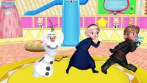 Frozen Ringa Ringa Roses Rhymes | Red Red The Apple Is Red Nursery Rhymes for Children