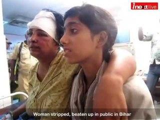 Woman stripped, beaten up in public in Bihar