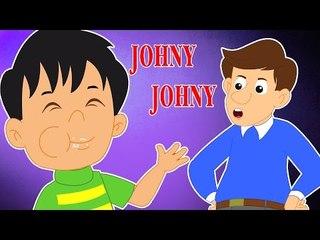 Johny Johny Sim Papa   Crianças Poemas Coleção   Crianças Músicas   Johny Johny Nursery Rhyme